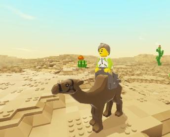 乐高无限骆驼怎么驯服?乐高无限空岛生存攻略