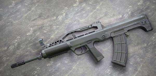 和平精英步枪排名,第一名有AKM的伤害和UZl的射速