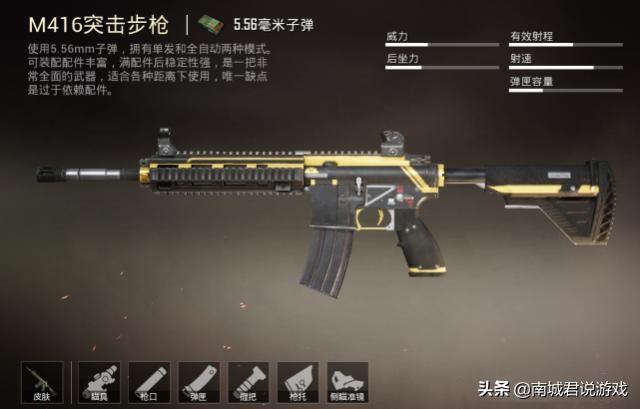 和平精英M416配件,最热门的倍镜揭晓!