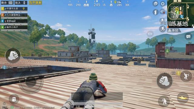 和平精英奇葩玩法:降落在训练基地一动不动也能躺赢