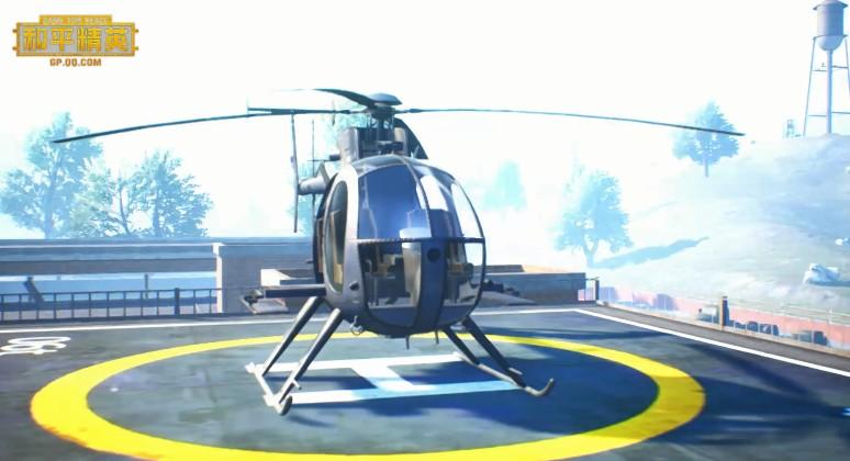 和平精英脑洞玩法,花式直升机操作攻略!