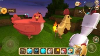 迷你世界变异鸡怎么做  详解变异鸡刷石器的细节