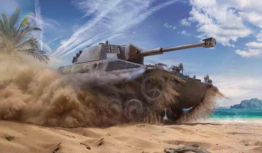 坦克世界闪击战 | 重返二战全力开火