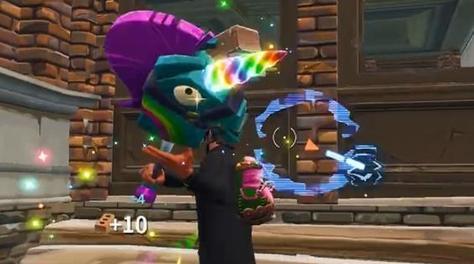 奇妙的乡土潮流!堡垒之夜彩虹独角兽怎么得?