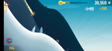 滑雪大冒险怎么在云上滑行,带你飞上云巅!