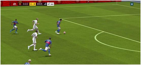 传球稳,才能赢。FIFA足球世界怎么打长传