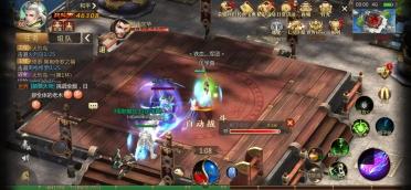 手游传奇世界3d怎么防道士攻击,近战强攻就可以