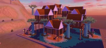 创造与魔法顶级部落需要多少材料,满级房子玩法