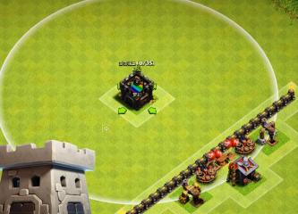 部落冲突布阵技巧 更换一下位置使防御力成倍增长