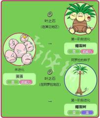 宝可梦大探险椰蛋树召唤食谱配方 椰蛋树介绍